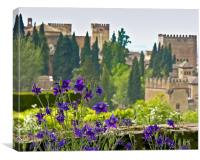 The Alhambra, Canvas Print