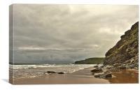 Watergate Bay, Cornwall, Canvas Print