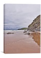 Beachcombing, Canvas Print
