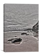 Cornish Coast, Canvas Print