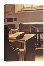 The Reader, Canvas Print