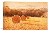 Field of Golden Wheat, Canvas Print
