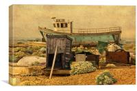 Dungeness Beach, Canvas Print