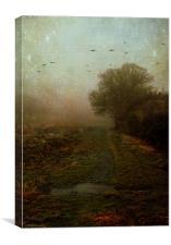 What lies ahead, Canvas Print