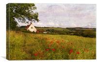 Rural Kent, Canvas Print