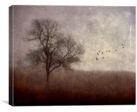 Dark Rising, Canvas Print