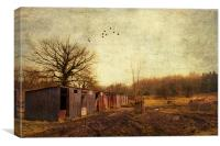 Memories of past times, Canvas Print
