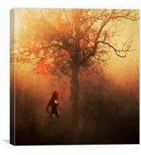 Autumn Weeps, Canvas Print