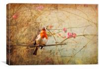 Vintage Songbird, Canvas Print