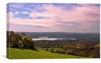 View from Ide Hill, Kent, Canvas Print