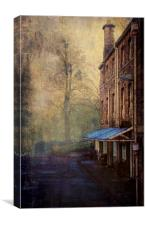 The Old School, Canvas Print