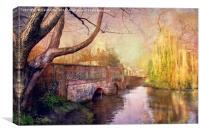 River Darenth, Kent, Canvas Print