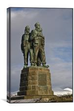 The Commando Memorial, Canvas Print