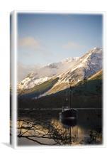 Loch Lochy Boat, Canvas Print