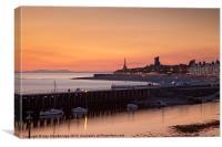 Aberystwyth sunset, Canvas Print
