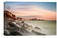 Aberystwyth on the Rocks (1st Edition), Canvas Print