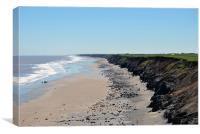 Kilnsea Coastline, Canvas Print
