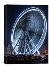 Big Wheel, Canvas Print