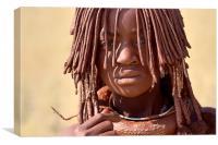 Himba, Canvas Print