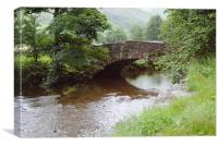 Stone Bridge, Canvas Print