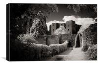 Kenilworth Castle, Warwickshire, UK [IR], Canvas Print