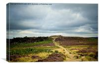 Burbage Valley, Canvas Print