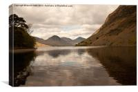 Wastwater Screes, Canvas Print