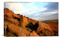 Stanage2, Canvas Print