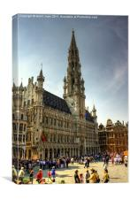 Grand Place, Canvas Print