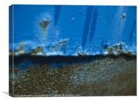 Rusty metal, Canvas Print
