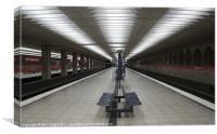 Munich U-Bahn - No.1, Canvas Print