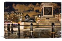 Nelson's Column, Trafalgar Square, Canvas Print