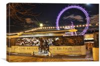 Battle of Britain Monument and London Eye