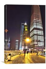 Jin Mao & Shangahi World Financial Centre Building, Canvas Print