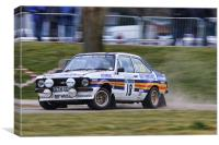 Nicely Sideways Escort, Canvas Print