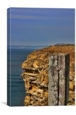 Cliff Path, West Bay, Dorset, Canvas Print