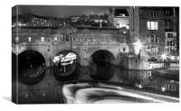 Bath Pulteney Bridge, Canvas Print