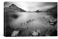 Tal y llyn lake, Canvas Print