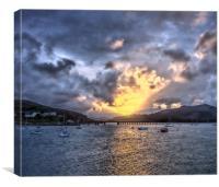 Barmouth sunrise, Canvas Print