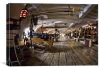 HMS Victory, Canvas Print