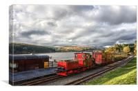 Brecon Mountain Railway, Canvas Print