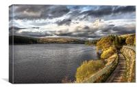 Pontsticll Reservoir, Canvas Print