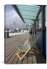 Bournemouth Pier, Canvas Print