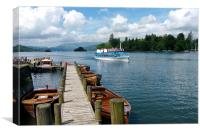 Bowness-on-Windermere, Canvas Print