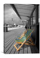 Bournmouth Pier, Canvas Print