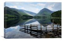 Buttermere lake Cumbria, Canvas Print