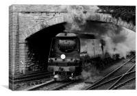 Engine 34070 Manston, Canvas Print