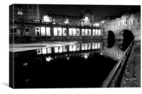 Pulteney Bridge Bath, Canvas Print