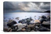 Swanage Bay Dorset, Canvas Print