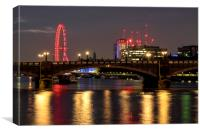 Lambeth Bridge London, Canvas Print